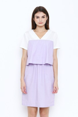 100318 Dress - Purple