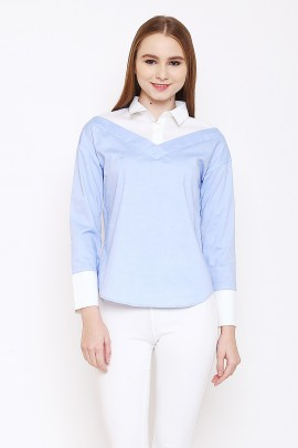 shirt with 2 layers look