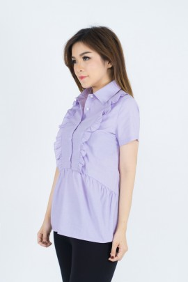 310118 Blouse - Purple